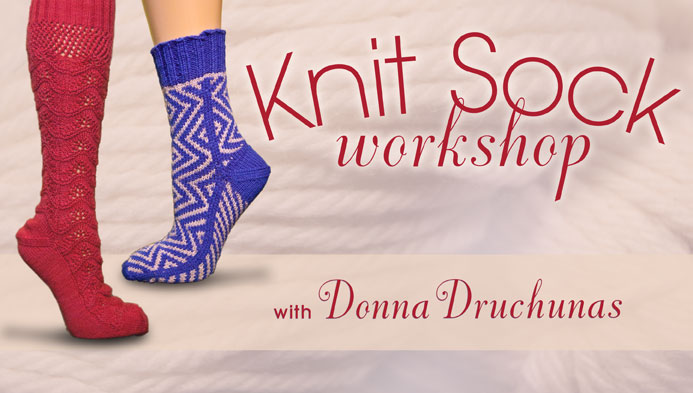 knit sock workshop craftsy
