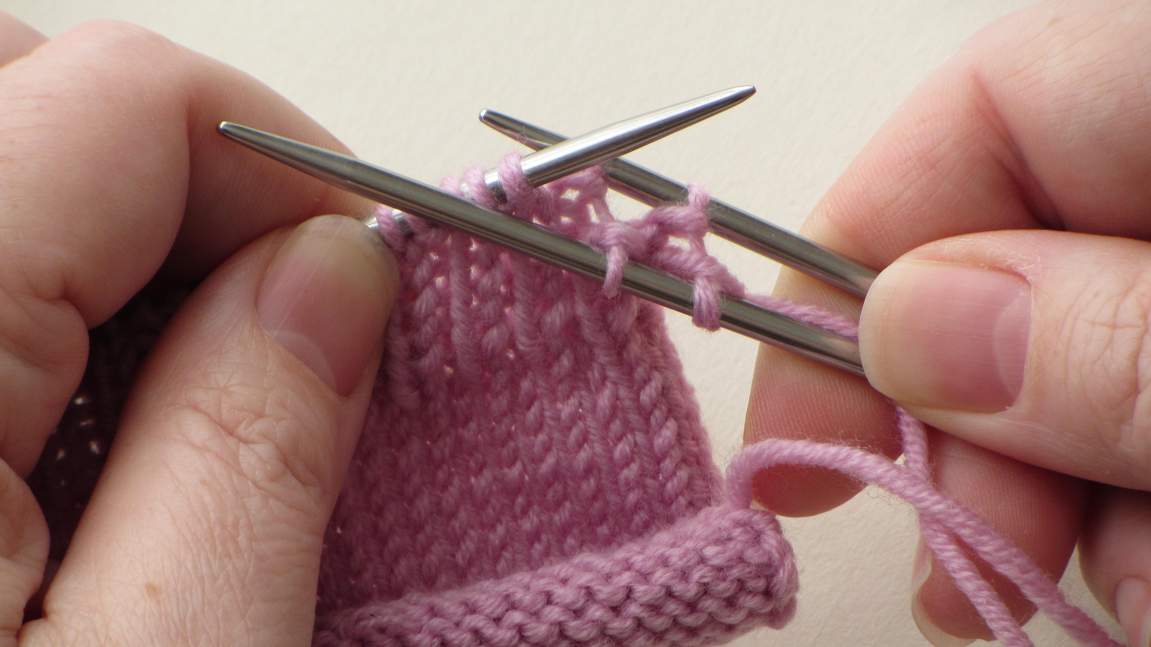 slip knit stitch