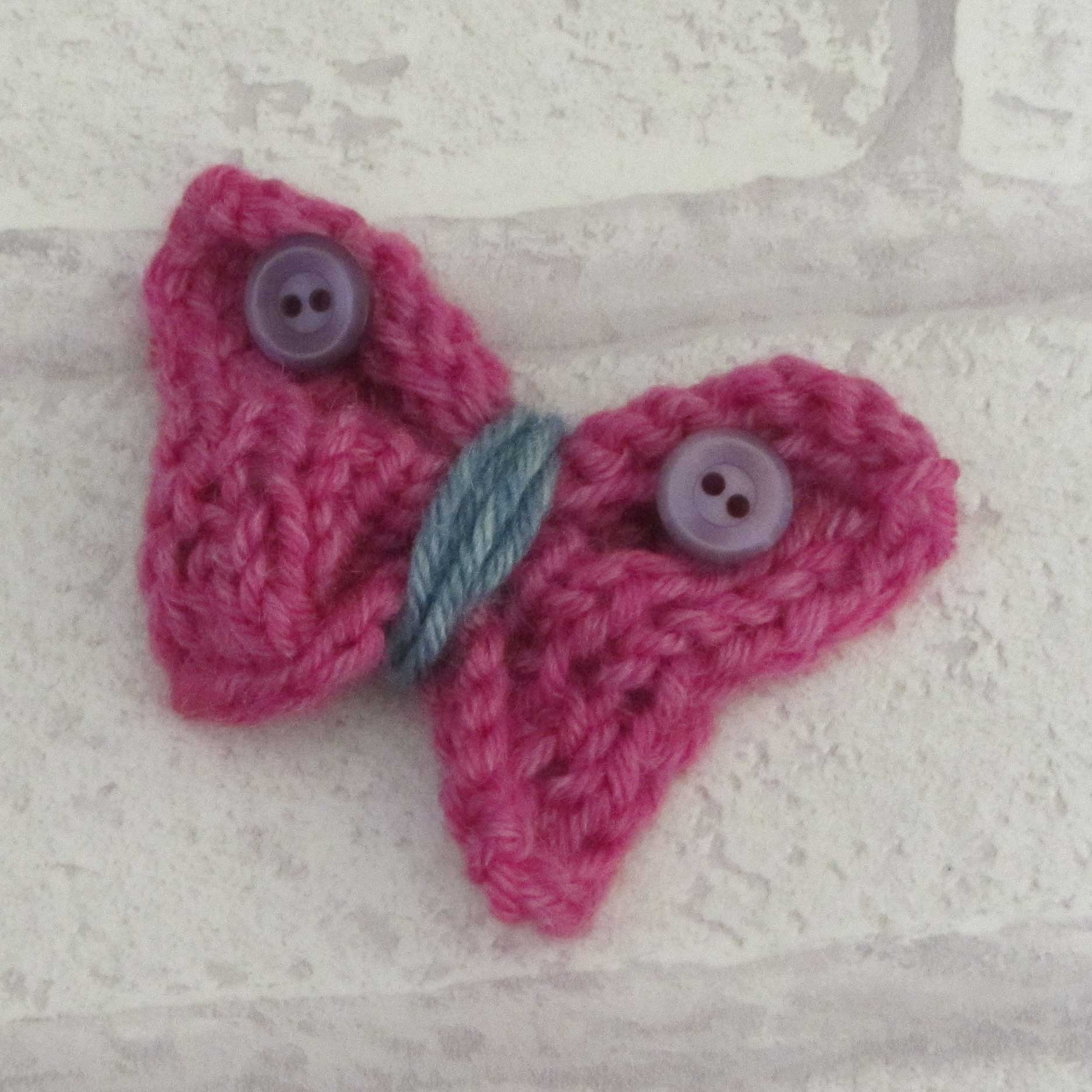 knitted butterfly tutorial8