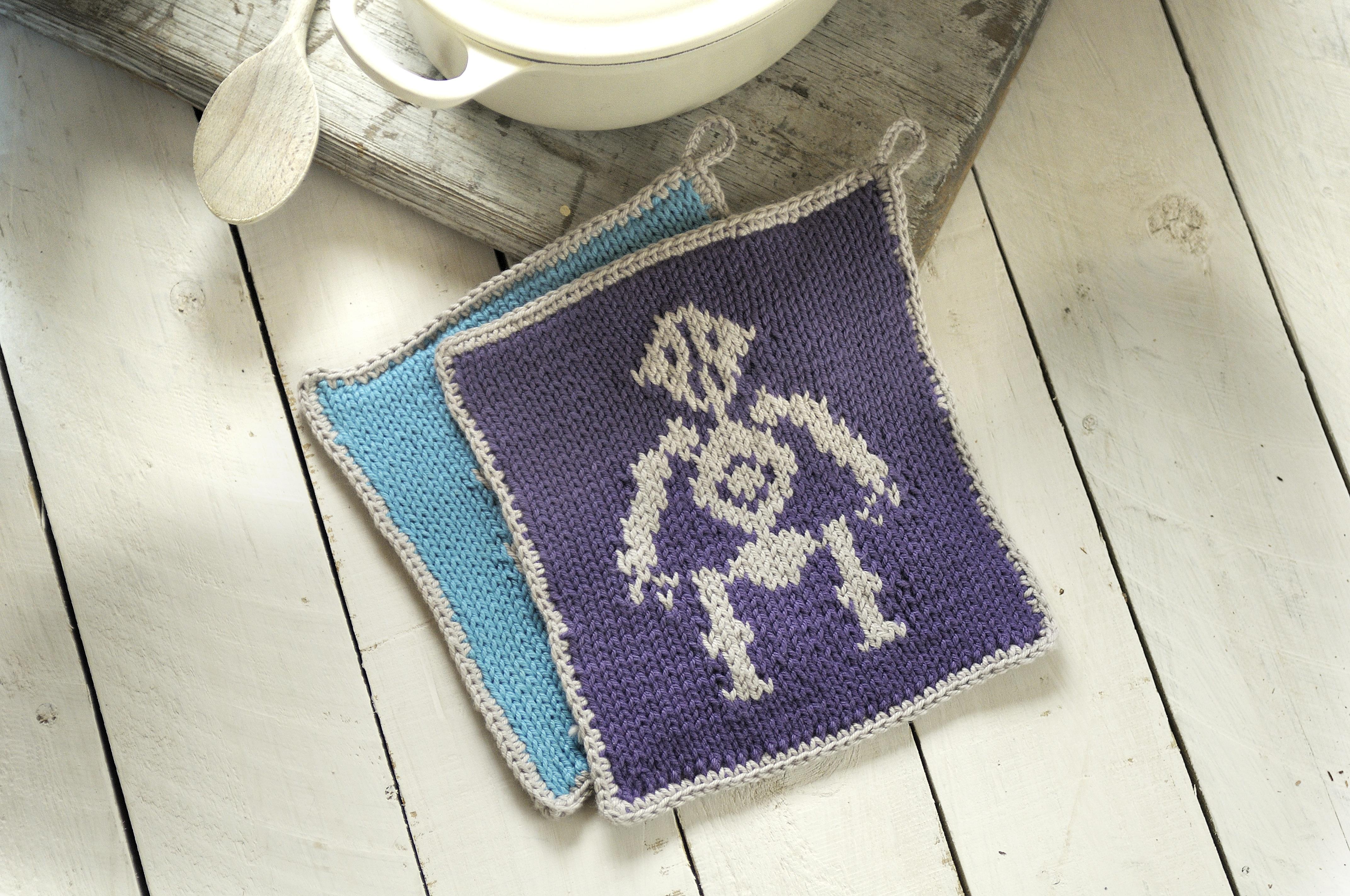 tech knits pot holders
