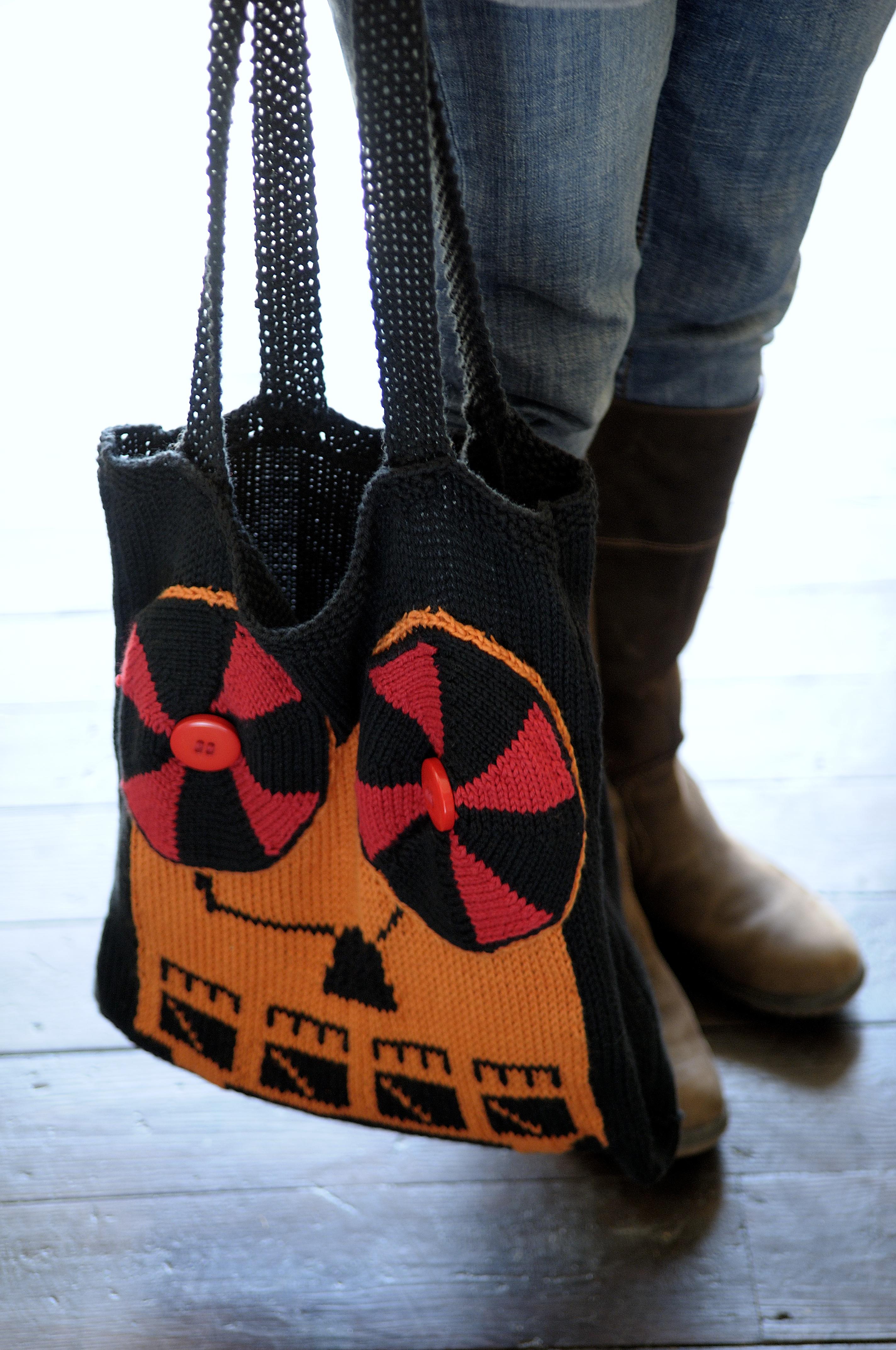 tech knits reel to reel tote bag