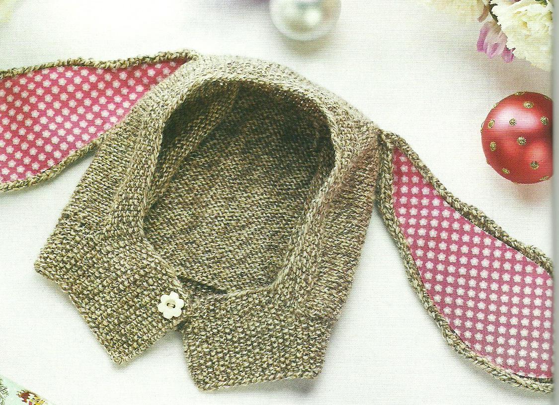 Thumper bunny balaclave lets knit magazine