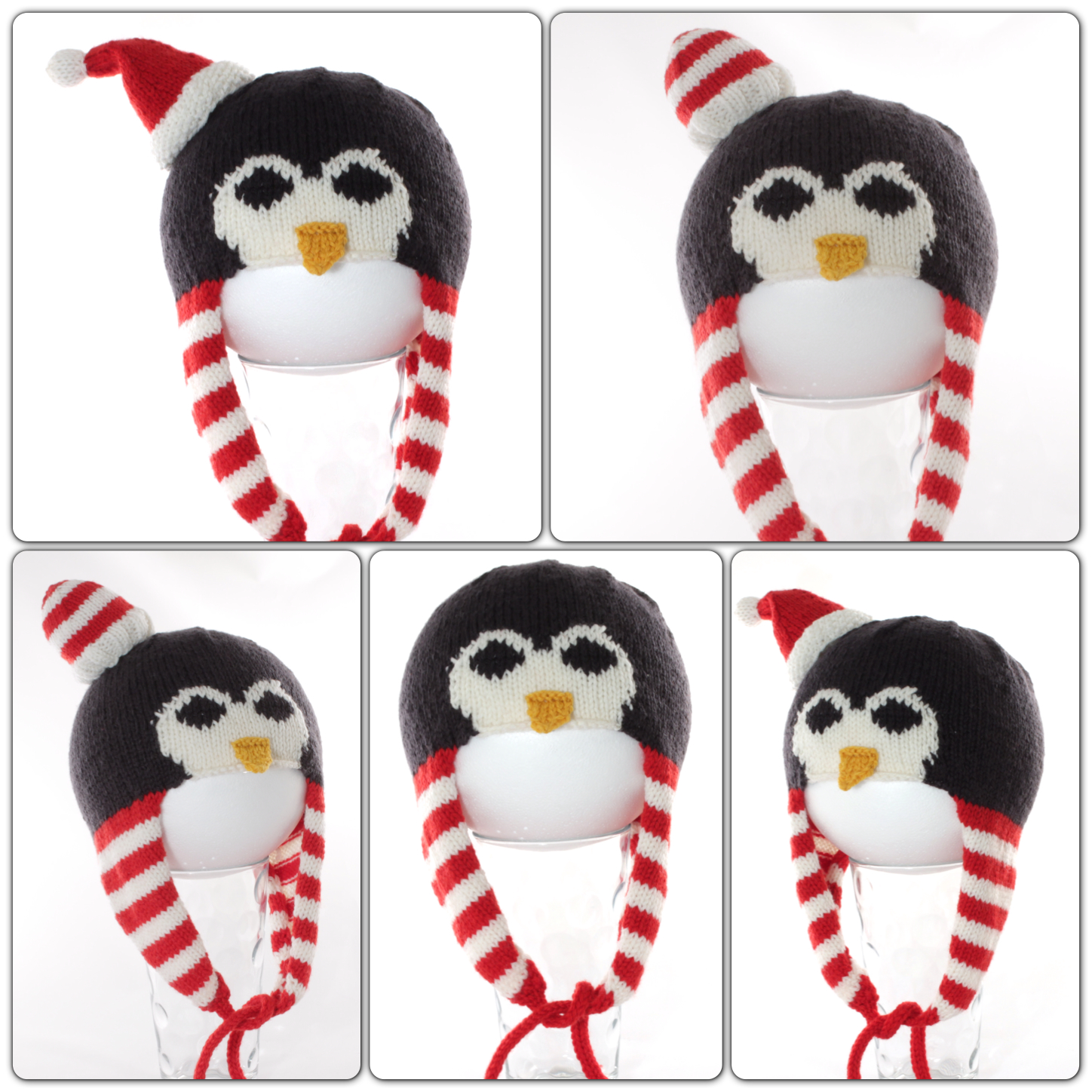 penguin hat montage