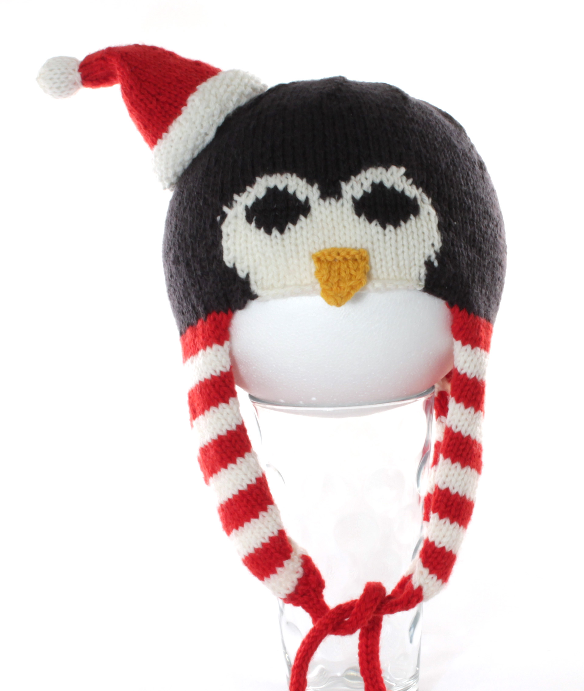 penguin santa hat
