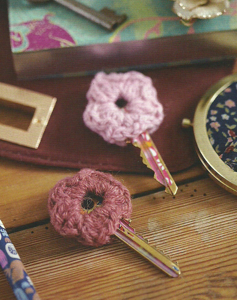 knitted key covers