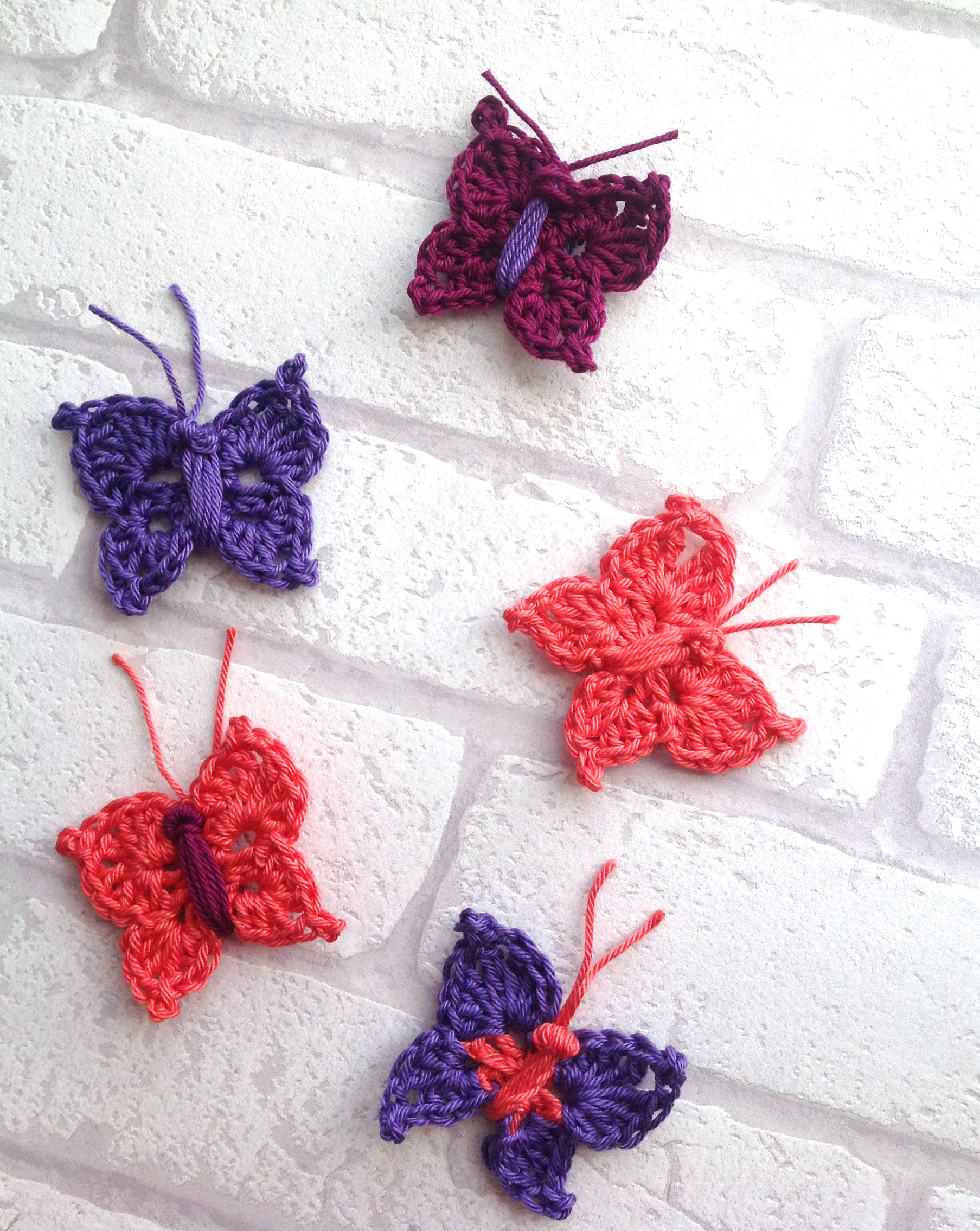 crochet butterflies jane burns