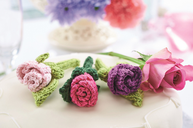 knitted flowers jane burns
