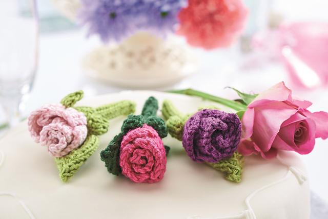 knitted flowers jane burns