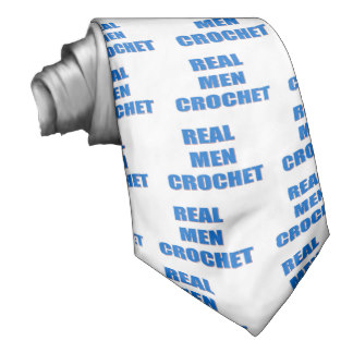 real men crochet tie gifts for knitters men