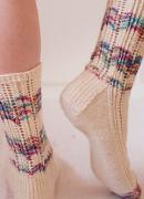 Lacy Leftover Socks
