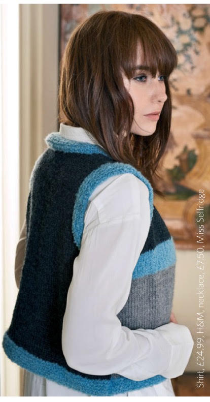 boho drop gilet knit jane burns