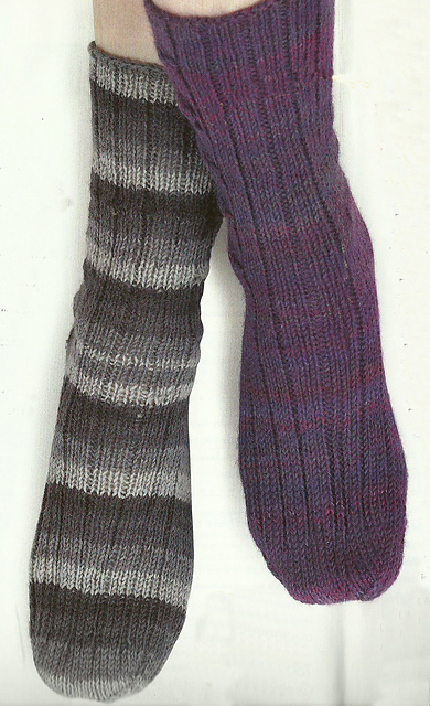 jane burns knit socks twist