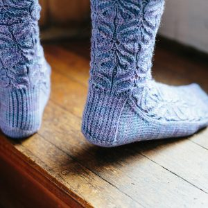 teasel-socks-jane burns knit