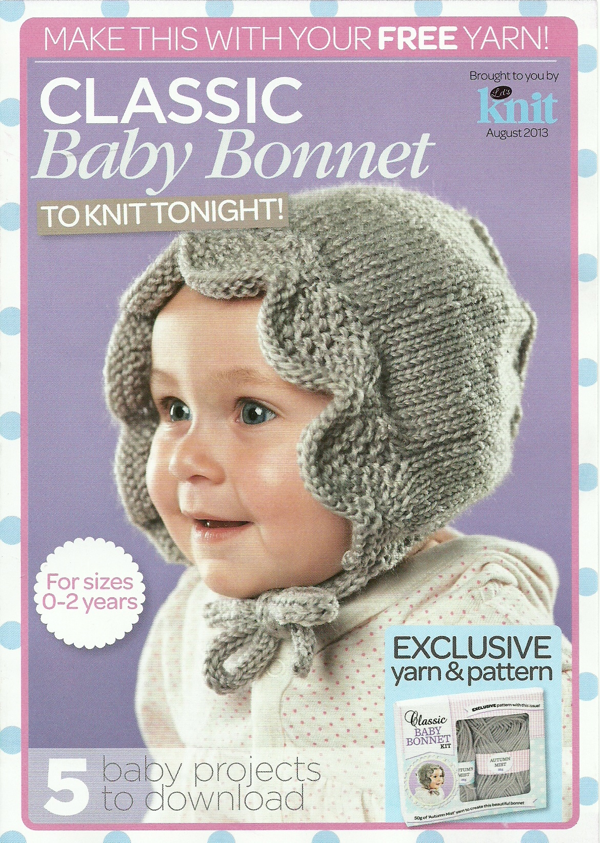 Betty Heritage Baby Bonnet