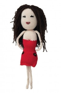 Knitted Cheryl Cole