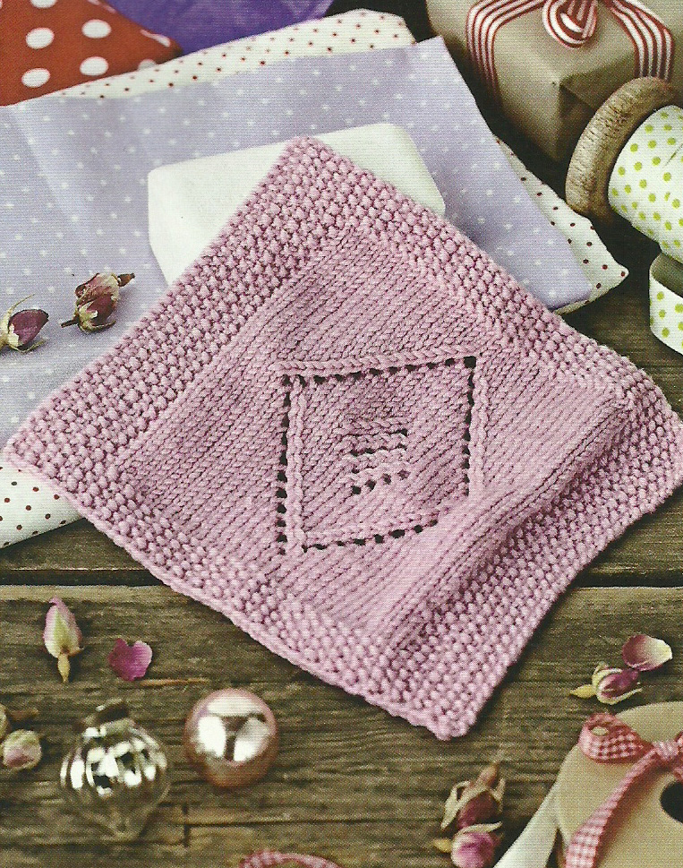knitted lace wash cloth simply knitting