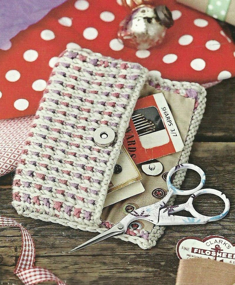 sewing purse simply knitting