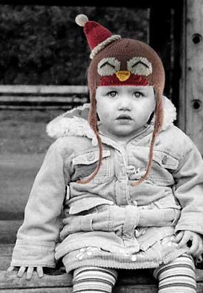 rockin robin earflap hat