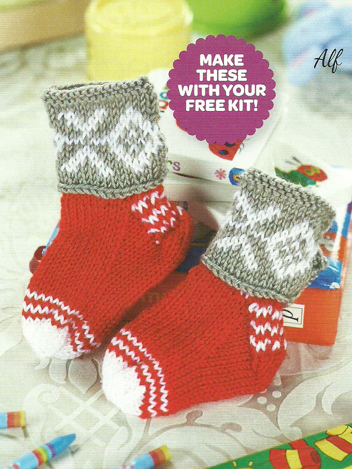 scandi baby boots lets knit magazine