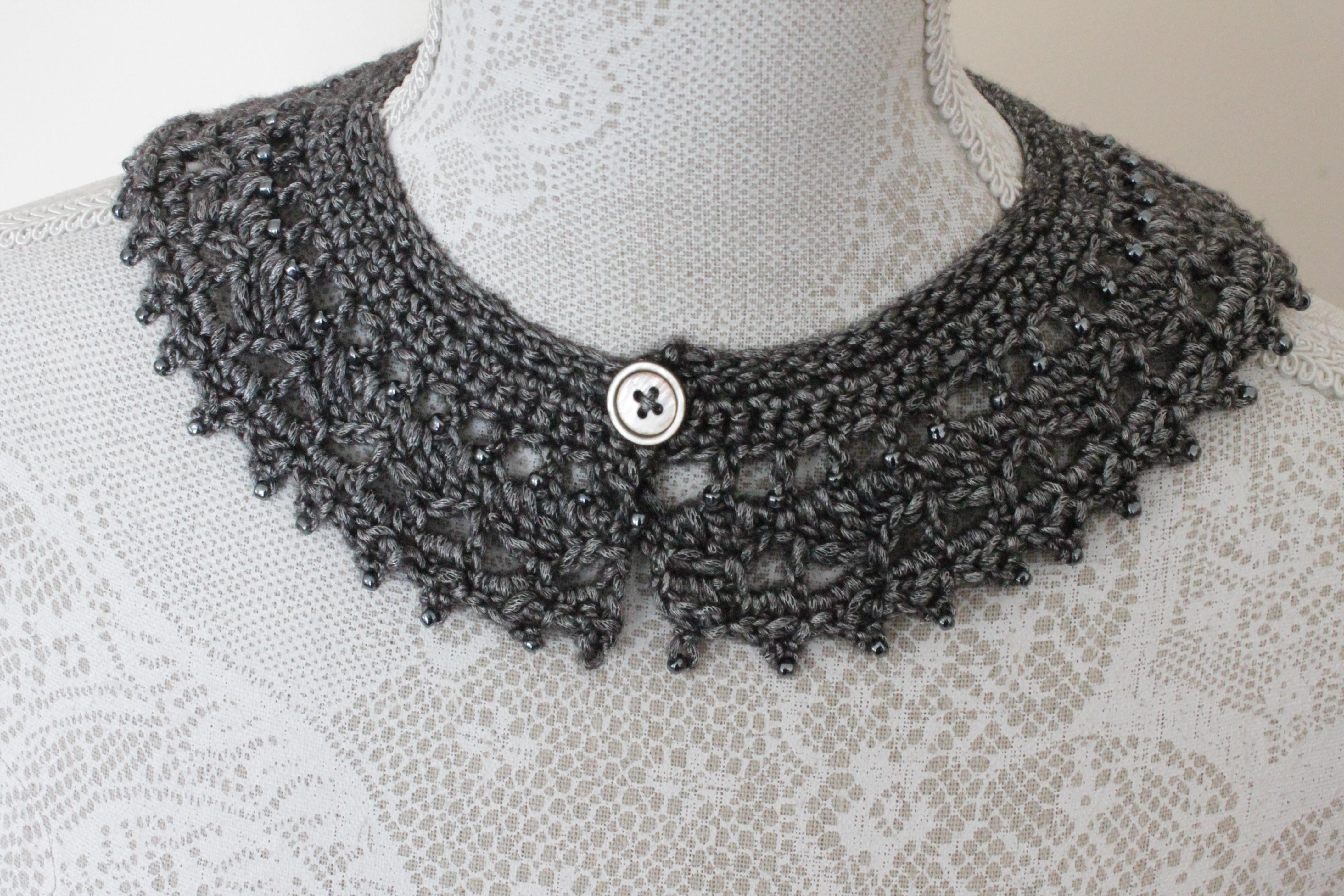 arabella crochet collar