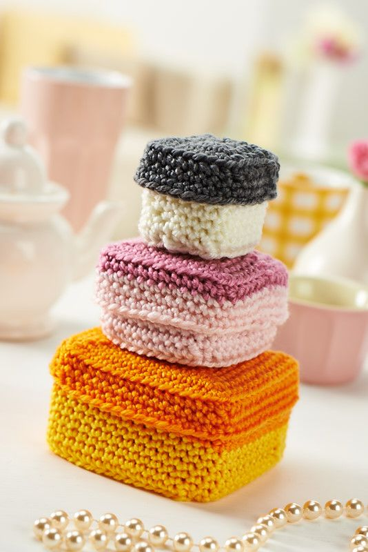 crochet stacking boxes