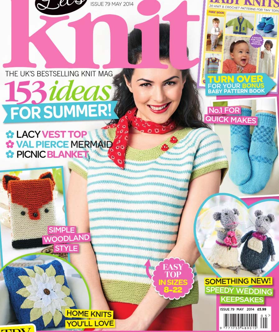 cover lets knit magazine