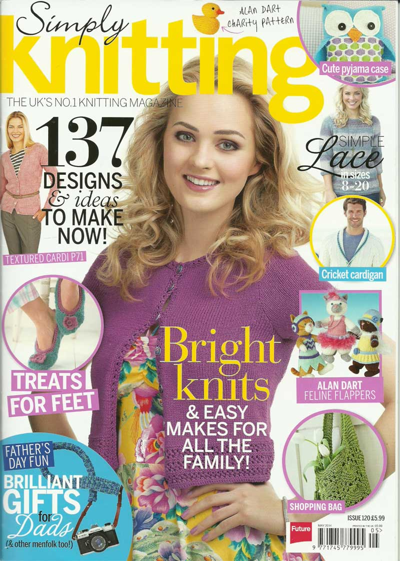Simply Knitting Issue 120 May2014