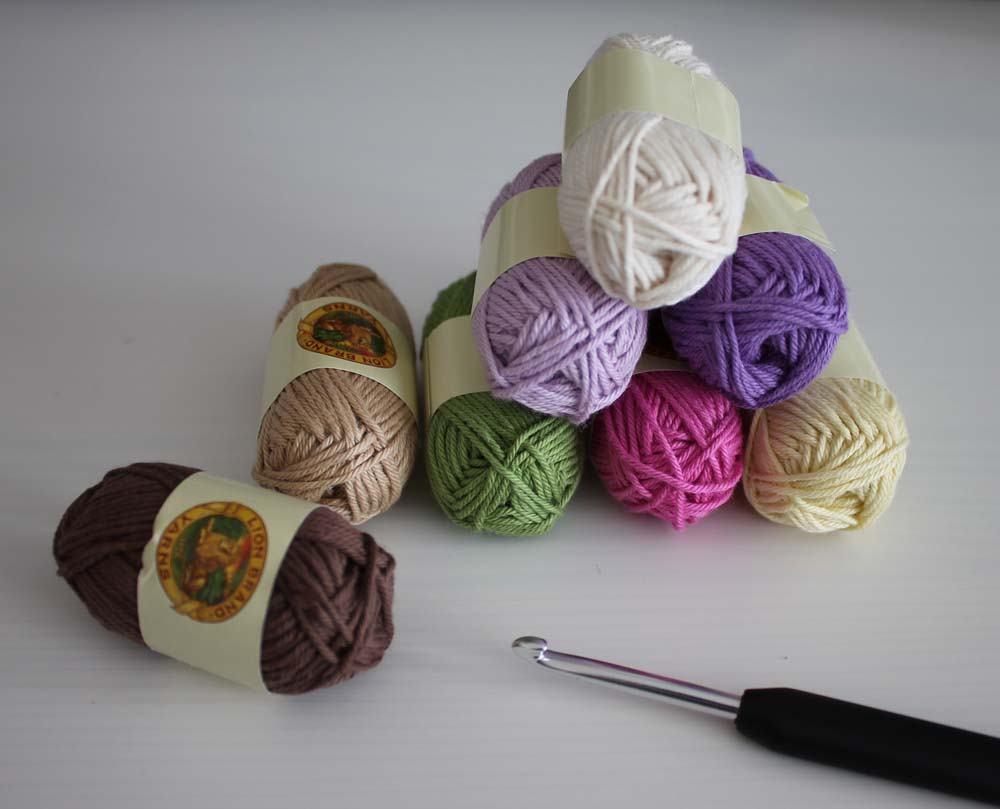 lion brand bonbon yarn