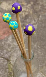 knitting needle stoppers