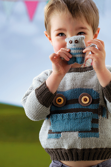 pocket pal monster sweater jane burns