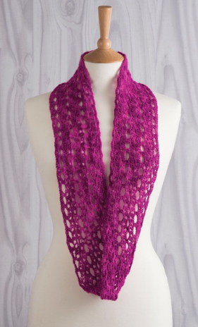 day dream in lace crochet infinity scarf jane burns
