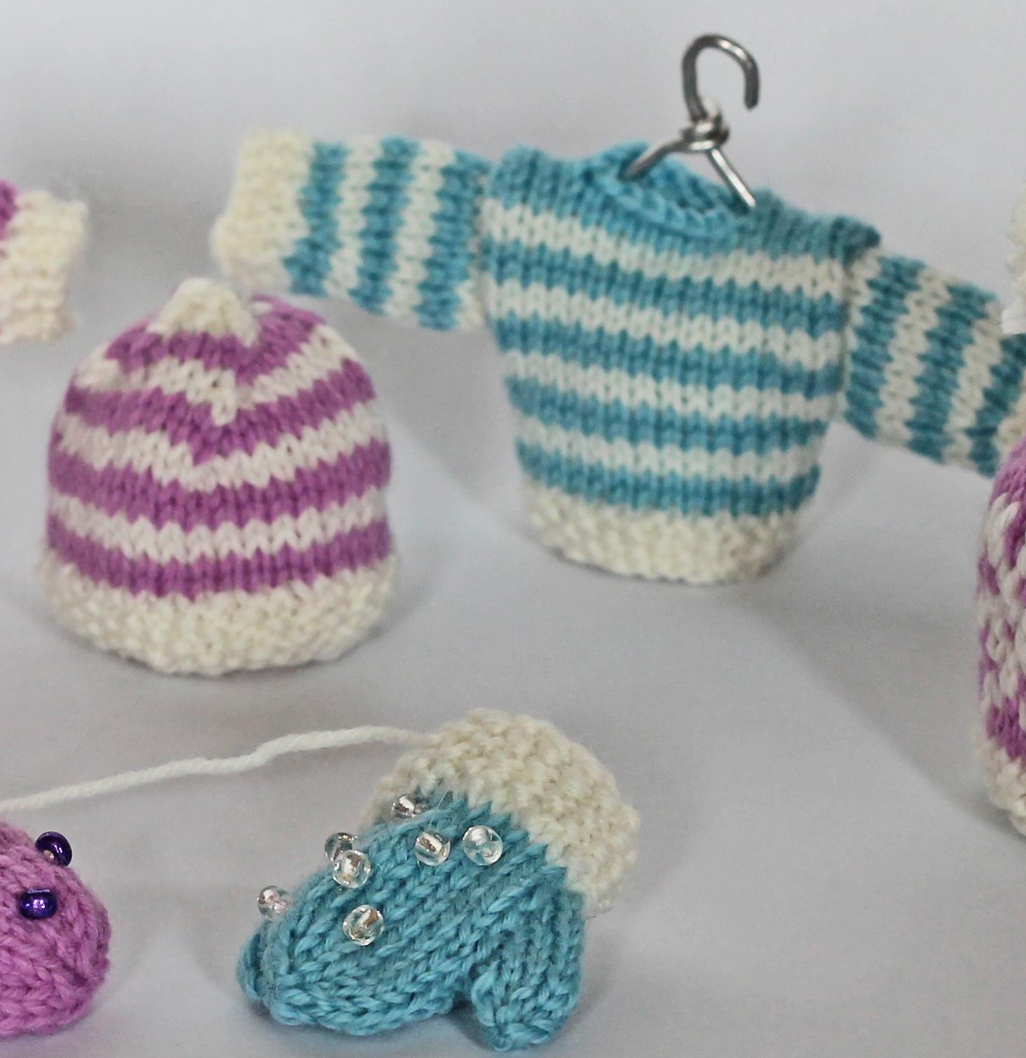 striped mini christmas sweater knitted pattern jane burns