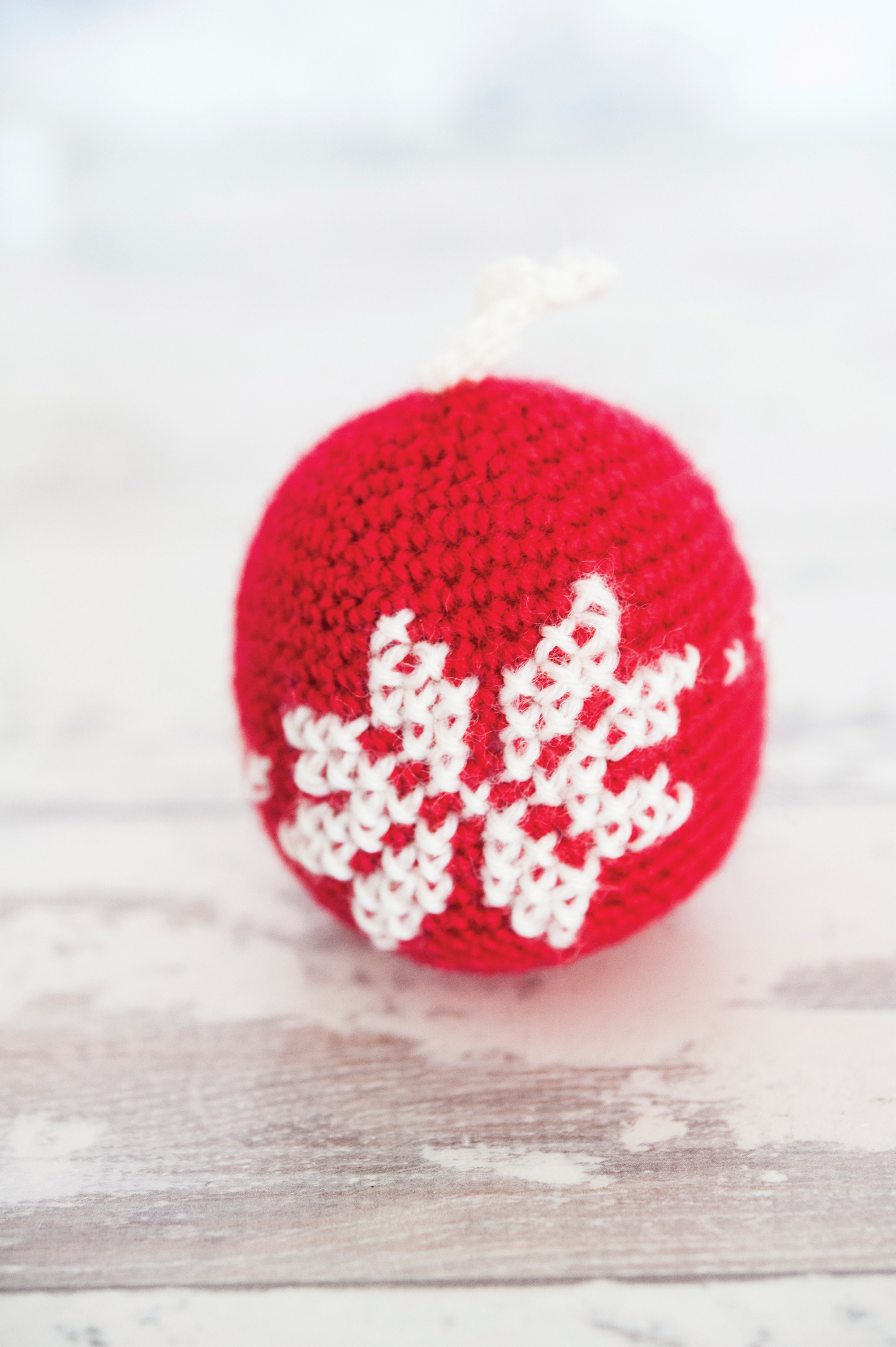 crochet scandi bauble jane burns