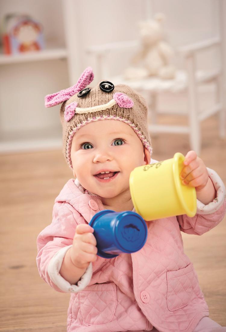 Little Ginger knitted hat jane burns