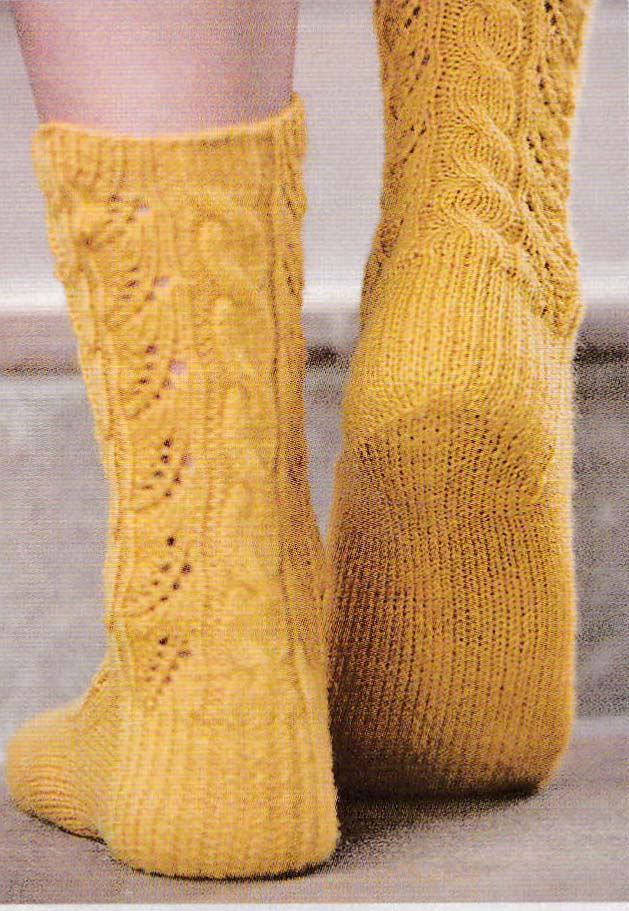 oh so sweet socks jane burns knit