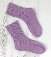 twisted love socks flat