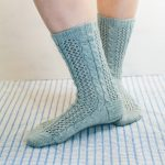 twisting ivy sock knitting pattern jane burns