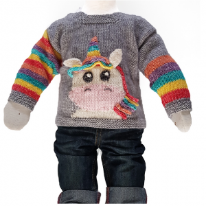 little unicorn sweater jane burns knits